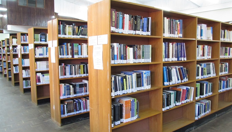 Image of Mzuni Library Book Shelves
