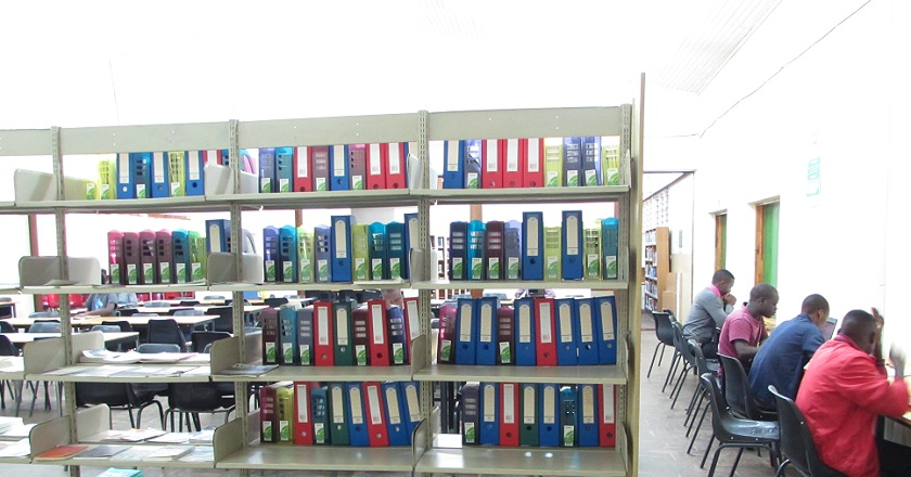 Image of Mzuni Library East Wing Reading Section